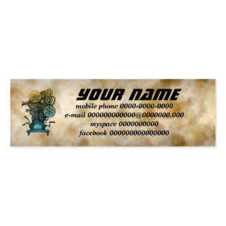 cinema mini business card