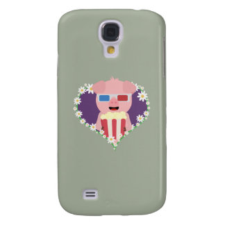 Cinema Pig with flower heart Zvf1w