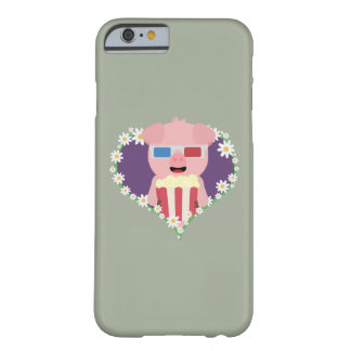 Cinema Pig with flower heart Zvf1w Barely There iPhone 6 Case