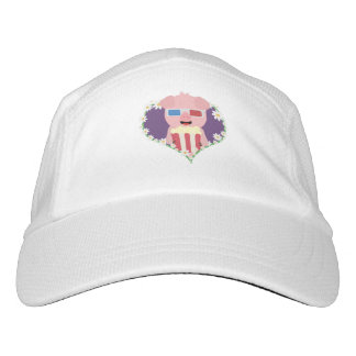 Cinema Pig with flower heart Zvf1w Hat