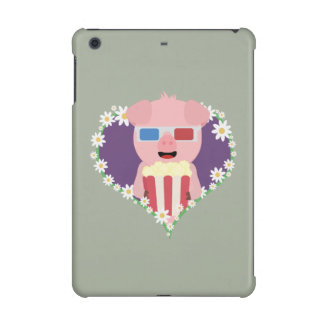 Cinema Pig with flower heart Zvf1w iPad Mini Retina Cases