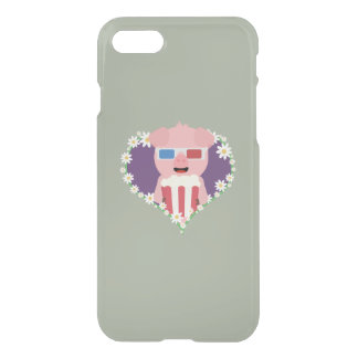 Cinema Pig with flower heart Zvf1w iPhone 7 Case