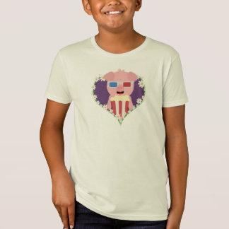 Cinema Pig with flower heart Zvf1w T-Shirt