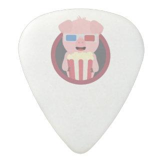 Cinema Pig with Popcorn Zpm09 Acetal Guitar Pick