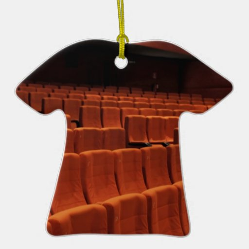 Cinema theater stage seats ornament