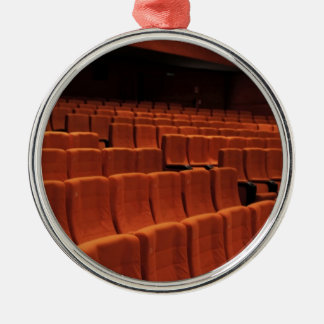 Cinema theater stage seats christmas tree ornaments