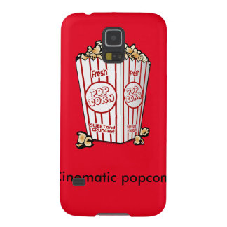 Cinematic popcorn galaxy s5 case