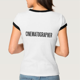 CinematographerWomen's Bella+Canvas Melange Ringer T-Shirt