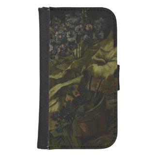 Cinéraire par Vincent van Gogh Coque Avec Portefeuille Pour Galaxy S4