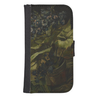 Cineraria by Vincent Van Gogh Samsung S4 Wallet Case