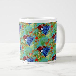 "Cineraria ""Mug"" by MAR Giant Coffee Mug"
