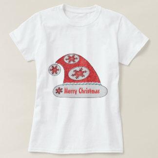 Cinnabar Santa Hat Valencia Snow T-Shirt