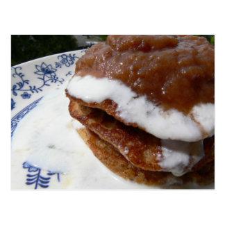 Cinnamon Almond Pancakes Postcard