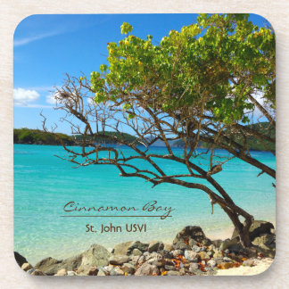 Cinnamon Bay St. John USVI Coasters - Set 6