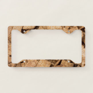 Cinnamon Cereal License Plate Frame