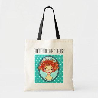 Cinnamon Frizz Design Logo Tote Bag