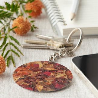 Cinnamon Potpourri Basic Round Button Keychain