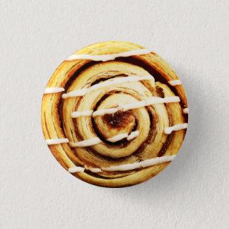 Cinnamon roll 1 inch round button