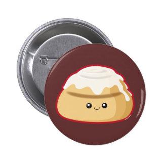 Cinnamon Roll 2 Inch Round Button