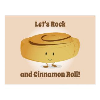 Cinnamon Roll Character | Postcard