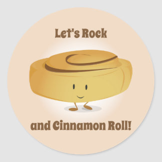 Cinnamon Roll Character | Sticker