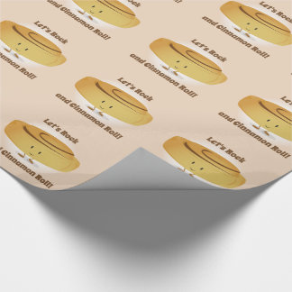Cinnamon Roll Character | Wrapping Paper
