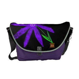 Cinnamon Shiva's OM Flower Commuter Bag