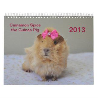 Cinnamon Spice 2013 Calender Wall Calendars
