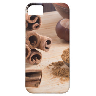 Cinnamon sticks and powder iPhone 5 covers
