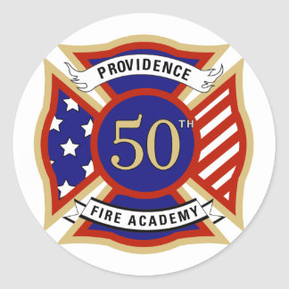 cinquantième Académie Sticker Rond