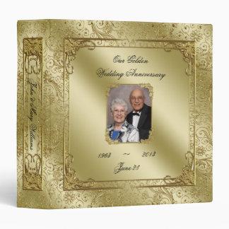 """cinquantième Anniversaire de mariage 1,5"""" classeur"""