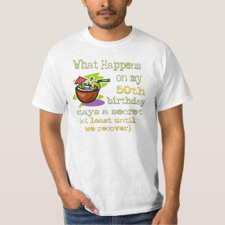 cinquantième Cadeaux de fête d'anniversaire. Ce T-shirt