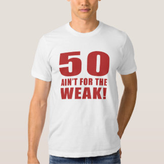Cinquantième cadeaux drôles de bâillon tee-shirt