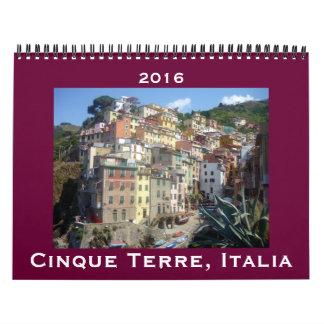 cinque terre 2016 wall calendars