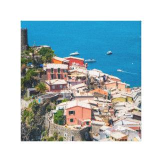 Cinque Terre in Italy Canvas Print