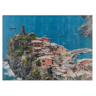 Cinque Terre in Italy Cutting Board