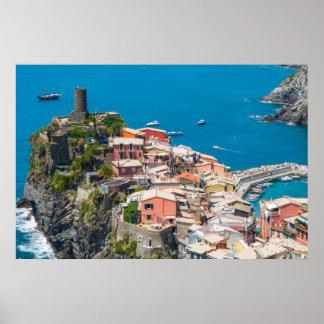 Cinque Terre in Italy Poster
