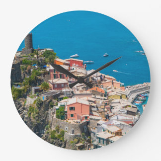 Cinque Terre in Italy Wallclock