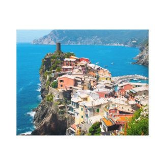 Cinque Terre in the Italian Riviera Canvas Print