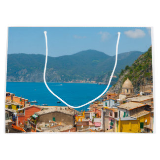 Cinque Terre in the Italian Riviera Large Gift Bag