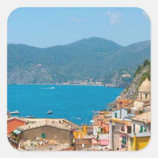 Cinque Terre in the Italian Riviera Square Sticker