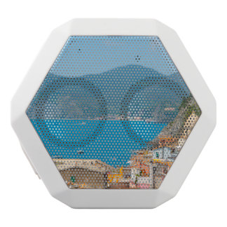 Cinque Terre in the Italian Riviera White Bluetooth Speaker
