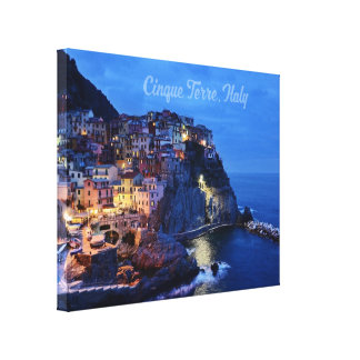 "Cinque Terre, Italy 14"" x 11"", 1.5"", Single Canvas Print"