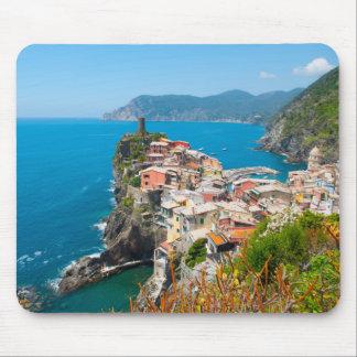 Cinque Terre Italy Destination Location Mouse Pad