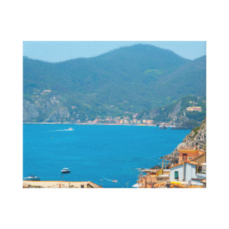 Cinque Terre Italy in the Italian Riviera Canvas Print