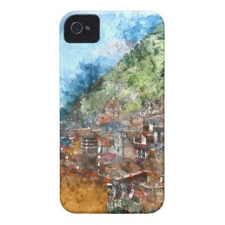 Cinque Terre Italy in the Italian Riviera iPhone 4 Cases