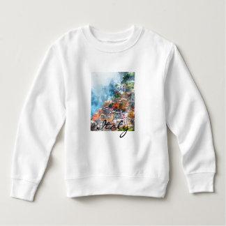 Cinque Terre Italy in the Italian Riviera Sweatshirt