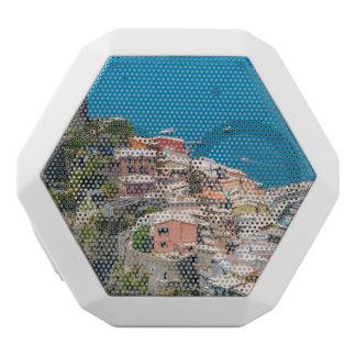 Cinque Terre Italy in the Italian Riviera White Bluetooth Speaker