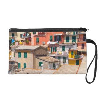 Cinque Terre Italy in the Italian Riviera Wristlet