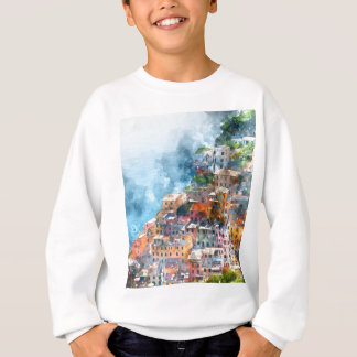 Cinque Terre Italy - Italian Riviera Sweatshirt